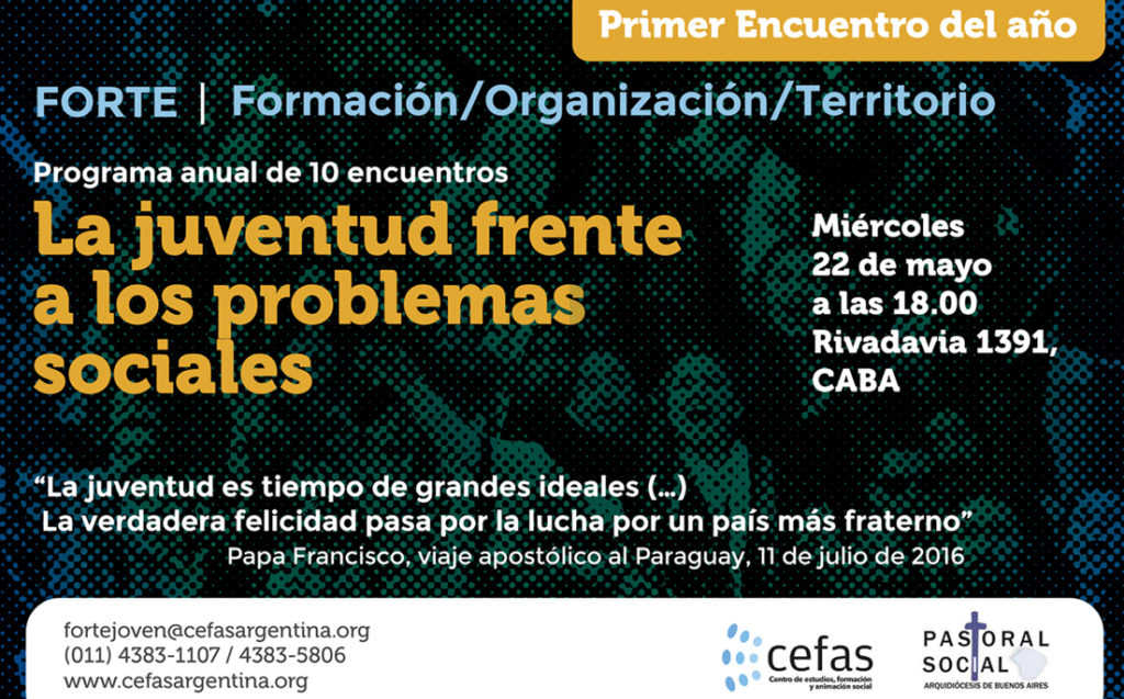 Flyer FORTE 1er Encuentro mayo 2019