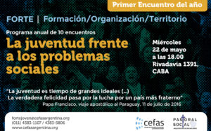 Flyer FORTE 1er Encuentro mayo 2019 - 2